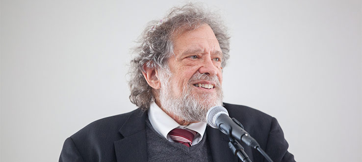 October 2017: Rabbi Michael Lerner spoke of his strategies for combating racism and anti-Semitism, and the psychopathology that creates this climate in US politics.