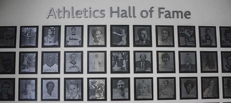Star student athletes in a wide variety of sports earn public recognition.